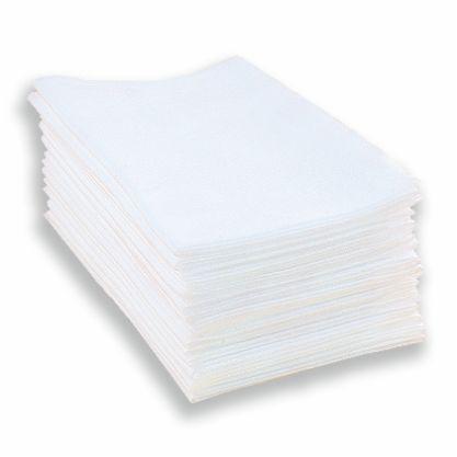Полотенце спанлейс <Комфорт> белый 35х70 см 50 шт/уп, Чистовье Россия