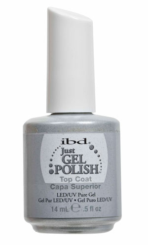 Ibd Just Gel Top Coat, 14 мл. - верхнее покрытие для гелевого лака (3 фаза) #56502