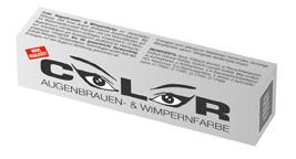 """Краска для бровей и ресниц """"COLOR"""", 15 мл (графит)"""