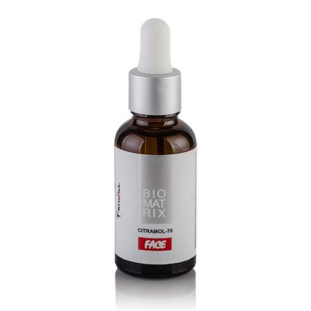 CITRAMOL-70 Пилинг для лица с лимонной и молочной кислотой 40г, Biomatrix