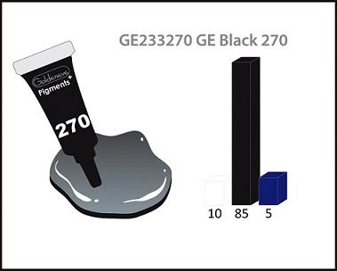 Пигмент Goldeneye PLUS 3мл Black 270
