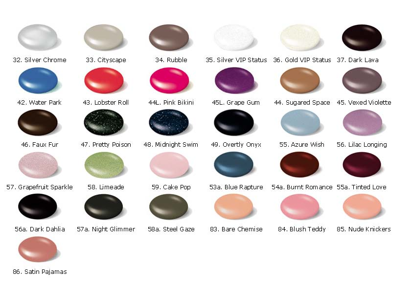 ГЕЛЬ ЛАК ШЕЛЛАК SHELLAC CND, 7,3мл (цвета с 32 по 86)