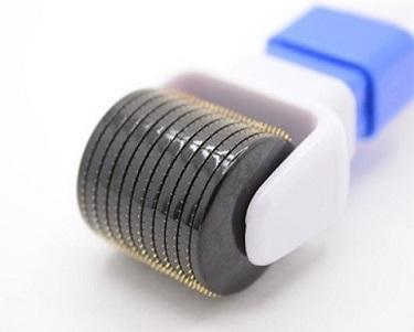 DRS600 (360°) Запасной барабан для мезороллера 360°(без ручки), микроиглы 600шт. титановые 0,2/ 0,25/ 0,3/ 0,5/0,75/1/ 2/ 2,5/ 3мм