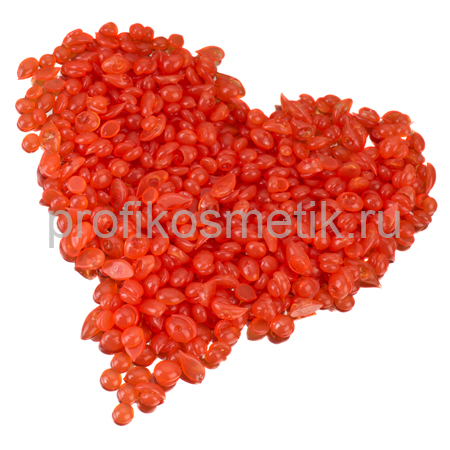 Воск Горячий Плёночный Роза, Italwax, гранулы 1кг