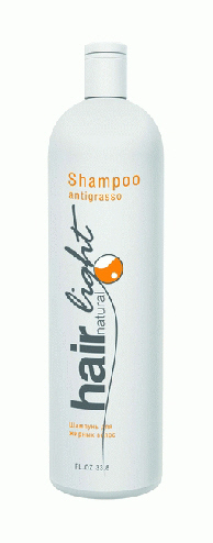 "HC HL Шампунь для жирных  волос 1000 мл ""Hair Natural Light Shampoo Capelli Antigrasso"" 250041"
