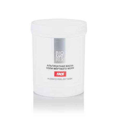 Маска Альгинатная пластифицирующая для лица Соли Мертвого моря,Biomatrix,200г,