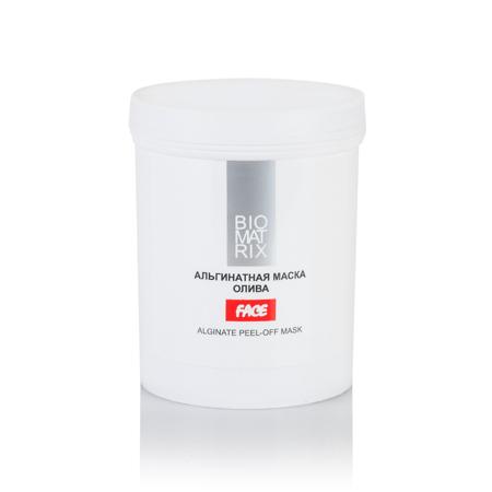 BIOMATRIX Маска Альгинатная пластифицирующая маска для лица ОЛИВА 200г Франция