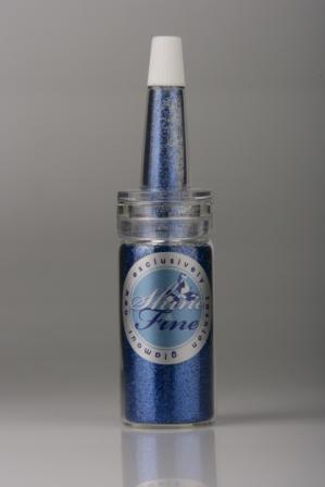 Shine & Fine блёстки синие