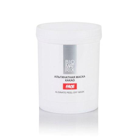 Маска Альгинатная Пластифицирующая для лица  КАКАО,Biomatrix, 200г