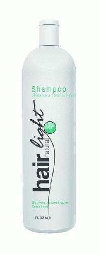 "HC HL Шампунь увлажняющий Семя льна 1000 мл ""Hair Natural Light Shampoo Idratante Ai Semi De Lino"" 251147"