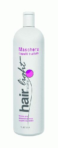 """250089 HC HL Маска для восстановления структуры волос """"Hair Natural Light Maschera Capelli Trattati"""" 1000мл"""