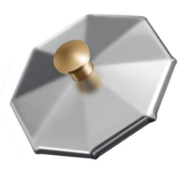 Крышка для стаканчика стеклянного