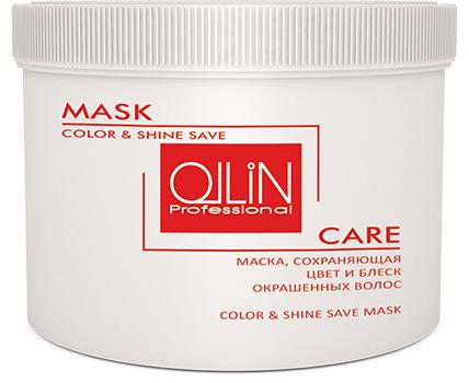 721296 OLLIN CARE Маска, сохраняющая цвет и блеск окрашенных волос 500мл/ Color&Shine Save Mask