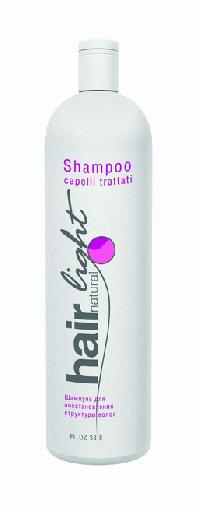 "HC HL Шампунь для восст. структ. волос 1000 мл ""Hair Natural Light Shampoo Capelli Trattati"" 250065"