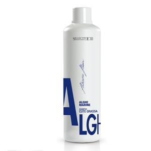 Шампунь Морские водоросли для жирных волос ALGHE MARINE 1000мл, Selective Professional Италия