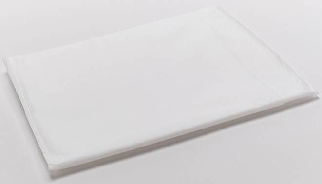Простыня спандбонд ламинированный 35 г/кв.м белая 200х140 см 10 шт/уп, Чистовье Россия