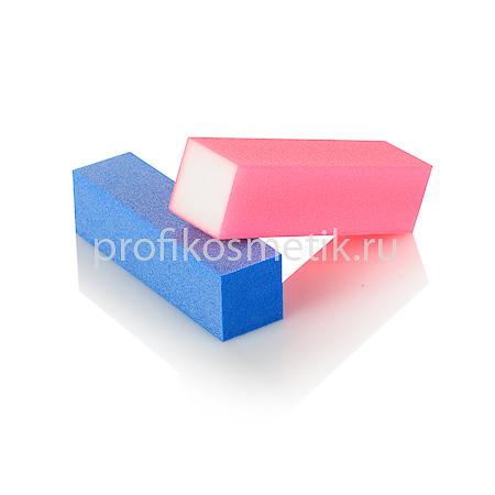 Блок шлифовочный цветной (розовый, голубой и др.)