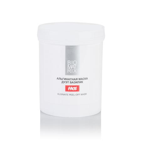 ВМ Маска Альгинатная пластифицирующая ДУЭТ БАЗИЛИК 250г, Biomatrix Франция