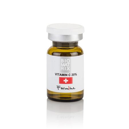FarmLine Концентрат ВИТАМИН С 20% / VITАMIN C 20%, 6мл