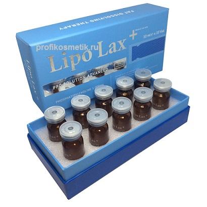 Липолитик Lipo Lax для тела и лица, 1х10мл